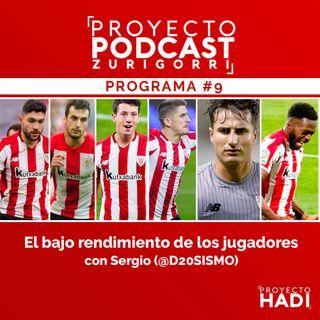 Programa #9 - El bajo rendimiento de los jugadores, con Sergio (@D20SISMO)