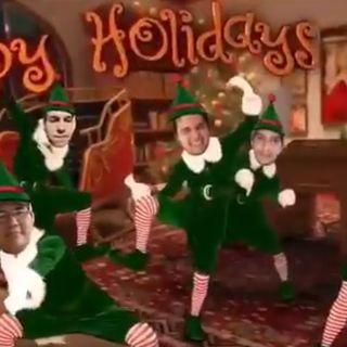 Saludos de Navidad Happy Holidays