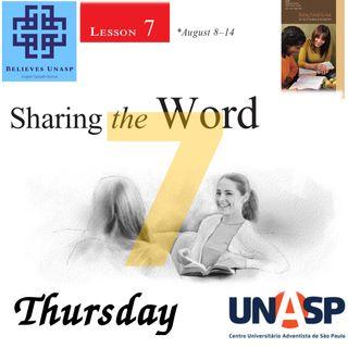 738 - Sabbath School - 13.Aug Thursday
