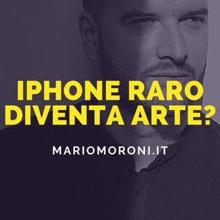 iphone con logo Apple sbagliato diventa arte e vale 2.300€