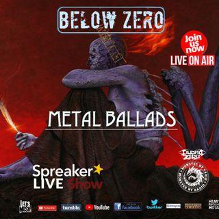 BELOW ZERO - BALLADS