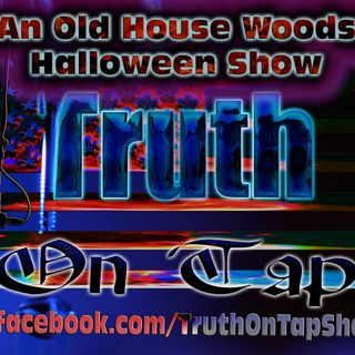 Live on Halloween Night Old House Woods