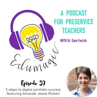 3 steps to digital portfolio success featuring Amanda Jeane Richert E59