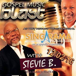 Stevie B's Acappella Gospel Music Blast - Episode 2
