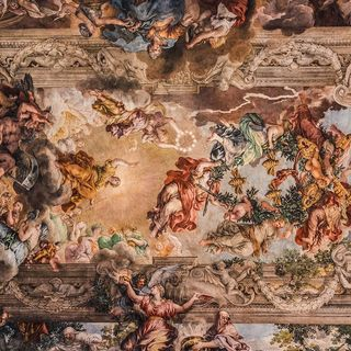 Trionfo della divina Provvidenza Piero da Cortona