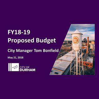 FY 2018 - 2019 Budget Presentation