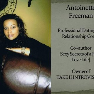 LIVING with SERENITY welcomes Ms. Antoinette Freeman;  a Christian relationship