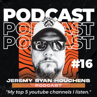 My top 5 youtube channels I listen to - Ep.16
