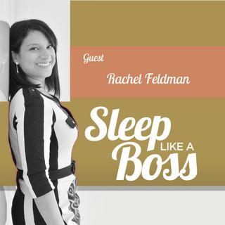 Sleep Like A Boss The Podcast by Christine Hansen with Rachel Feldman