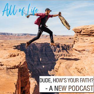 Dude, How's Your Faith? - A New Podcast