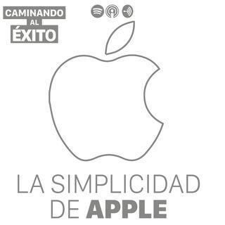 La simplicidad de Apple