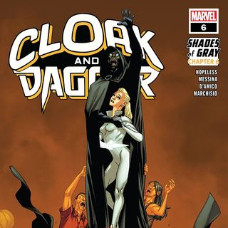 "Source Material #232 - Cloak and Dagger - ""Shades of Grey"" (Marvel, 2018)"