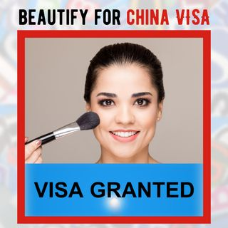 Beautification of photos in China during the Visa Application Process