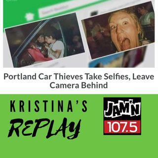 Portland Car Thieves Take Selfies, Leave Camera Behind