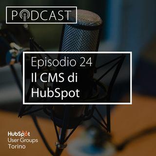 Pillole di Inbound #24 - Il CMS di HubSpot