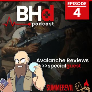 Episode #4: Interview with Avalanche Reviews (Summer of Evil Series 2020)