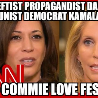 VIDEO A COMMUNIST DEMOCRAT PARTY LEADER AND A LEFTIST PROPAGANDIST MEDIA LEFTIST  LOVE FEST