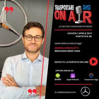Puntata 86/2021 del 1 aprile - Ospite: Andrea Verdolotti (Mercedes-Benz Vans) - elettrificazione gamme