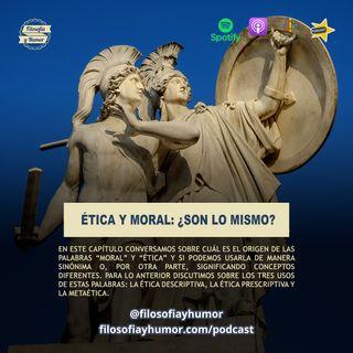 Ética y moral: ¿son lo mismo?