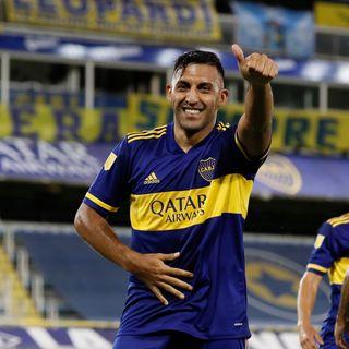 Gol de Boca: Ramón Ábila 1-0