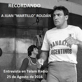 "Recordando a Juan Domingo ""Martillo"" Roldán: Última entrevista con Télam Radio"