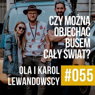 ZAWODOWCY #055 - Ola i Karol Lewandowscy - Czy busem można przejechać przez świat?