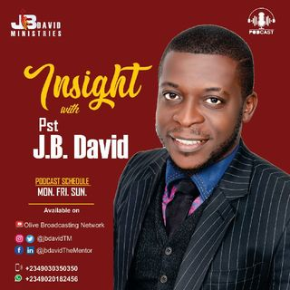 Episode 7 | INSIGHTS with Pst JB David | Overcoming Temptations| Change The Narrative