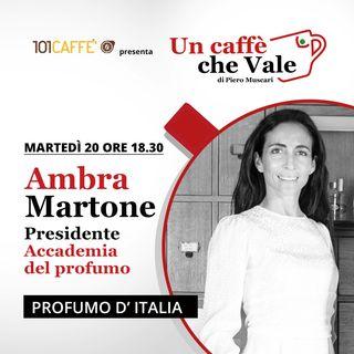 Ambra Martone: Profumo d'Italia