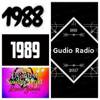 DGratest Sunday Night Love Jones 1988/1989 and some... 8/15/21