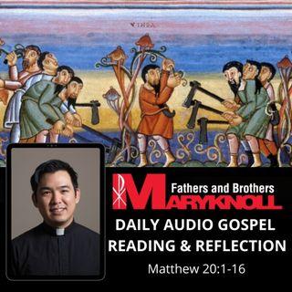 Wednesday of the Twentieth Week in Ordinary Time, Matthew 20:1-16