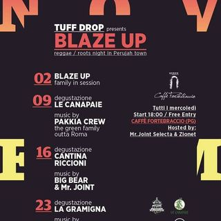 Blaze Up Party Big Bear I-Shence Sound