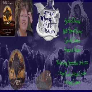 Buffalo Dreams With Author, Shaman Glenda Clemens