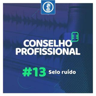 Conselho Profissional #13 - Selo ruído