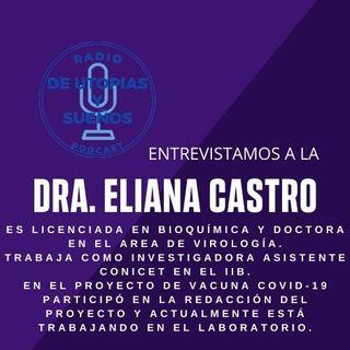 Invitada de hoy la Dra. Eliana Castro nos habla de las vacunas.