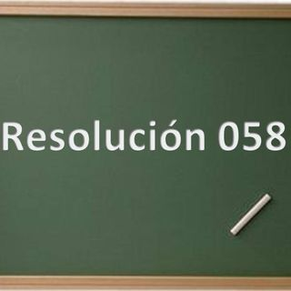 La Res. 058 @Monifernandez  @RaymondOrta