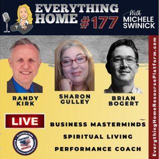 177 LIVE:  Masterminds, Spiritual Living, Fitness, AZ Recalls, Performance Coach