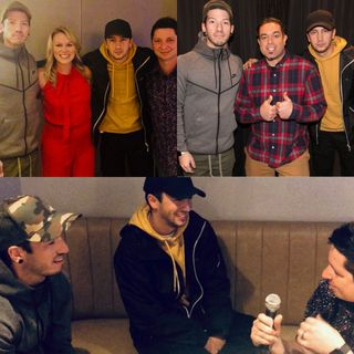 Hanging with the Twenty One Pilots!