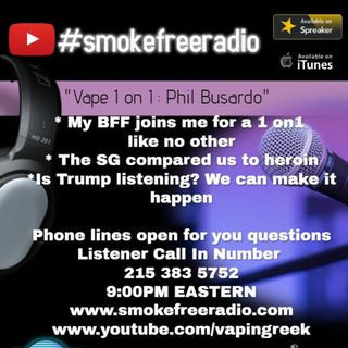 #SmokeFreeRadio - Phil Busardo