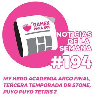 194.  My hero academia entra en su arco final, nueva temporada para Dr. Stone