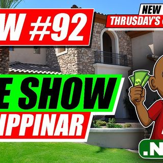 How to Wholesale Real Estate Free Training  [LIVE SHOW Flippinar #92]
