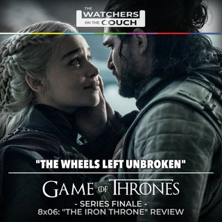 "8x06: ""The Iron Throne"" Review (The Wheels Left Unbroken)"