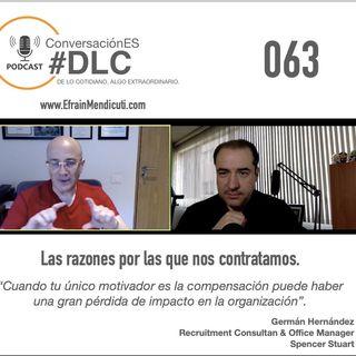 Episodio 063 - ConversaciónES #DLC con Germán Hernández