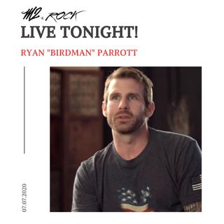 Special guest tonight and a true American hero! Catch M2 LIVE with Ryan Birdman Parrott
