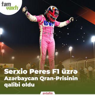 Serxio Peres F1 üzrə Azərbaycan Qran-Prisinin qalibi oldu | Tam vaxtı #13
