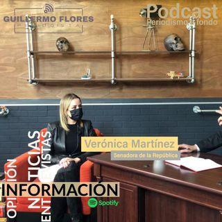 Entrevista Senadora Verónica Martínez