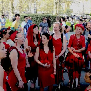 MusicalSpaces #5 - Shakti Sings, Speakers' Corner, Hyde Park, London, 20th April 2019