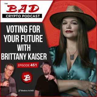 Voting for Your Future with Brittany Kaiser