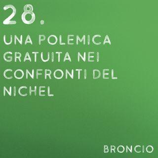 28 - Una polemica gratuita nei confronti del nichel