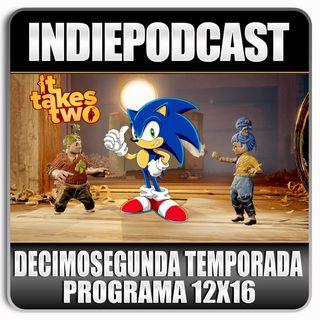Indiepodcast 12x16 'It Take Two, Sonic y Dark Souls Nightfall'