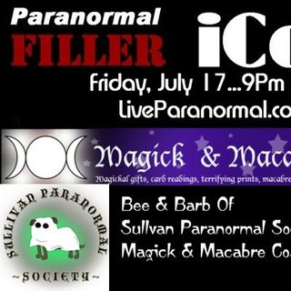 Sullivan Paranormal Society On The iCon